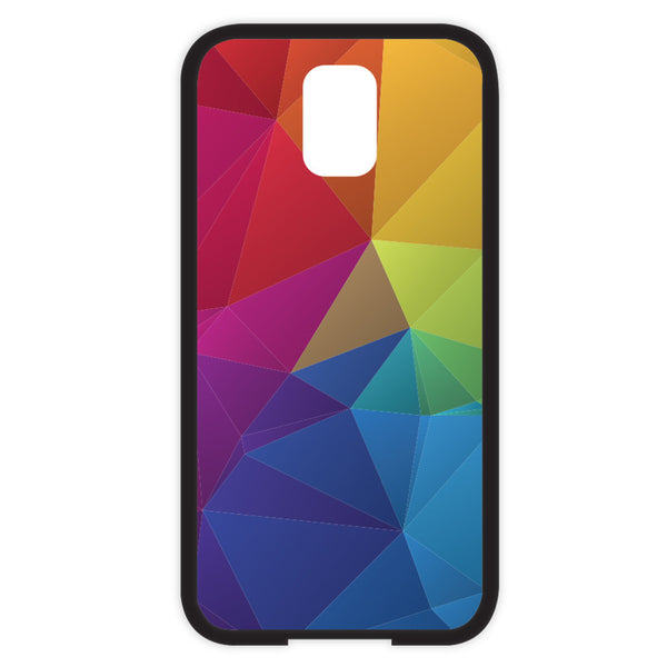 Samsung Galaxy S5 Rainbow Geometric Bumper Case
