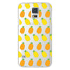 Samsung Galaxy S5 Pineapples Transparent Cap Case