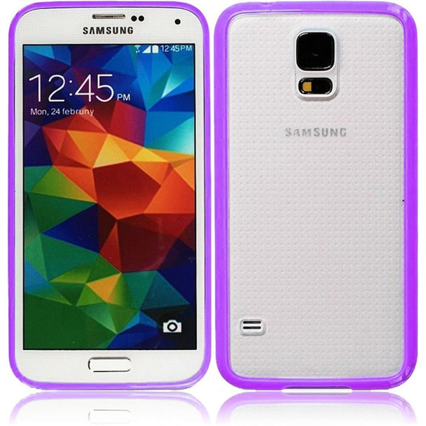Samsung Galaxy S5 Bumper Case in Purple