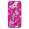 Samsung Galaxy S6 Pink Cats Bumper Case