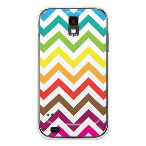 T-Mobile Samsung Galaxy S2 Rainbow Chevron Case