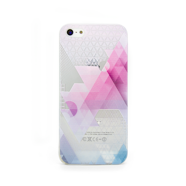 iPhone 5  and iPhone 5s Geometric Abstract Transparent Case - Theory Abstract Case