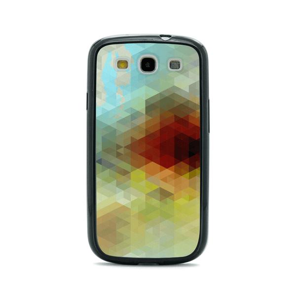 Samsung Galaxy S3 Geometric Abstract Bumper Case
