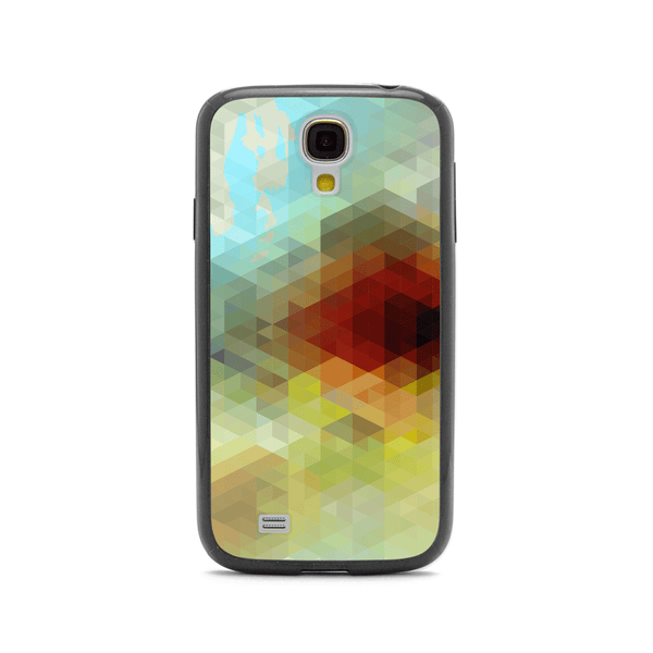 Samsung Galaxy S4 Geometric Black Bumper Case