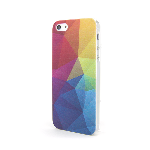 iPhone 5 and iPhone 5s Geometric Rainbow Print Case - Theory Divide Case