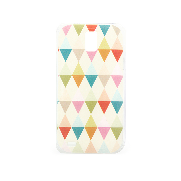 T-Mobile Samsung Galaxy S2 Geometric Rainbow Case - Theory Emblem Case