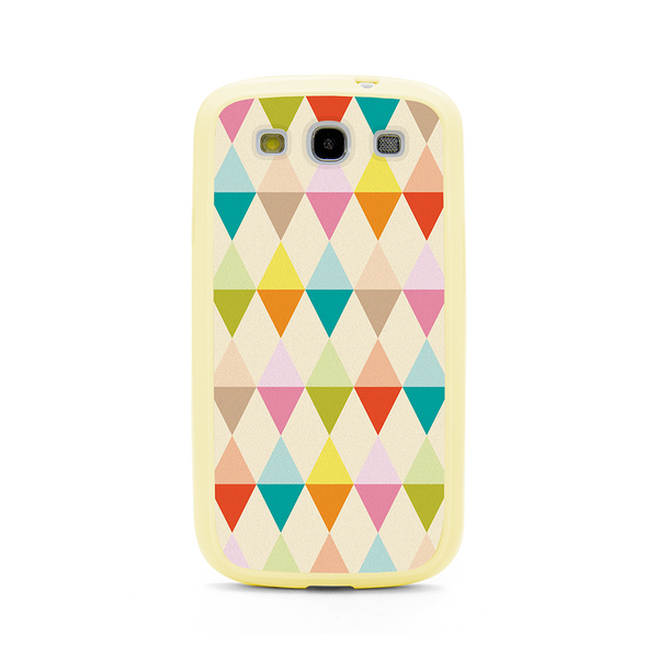 Samsung Galaxy S3 Geometric Shapes Bumper Case