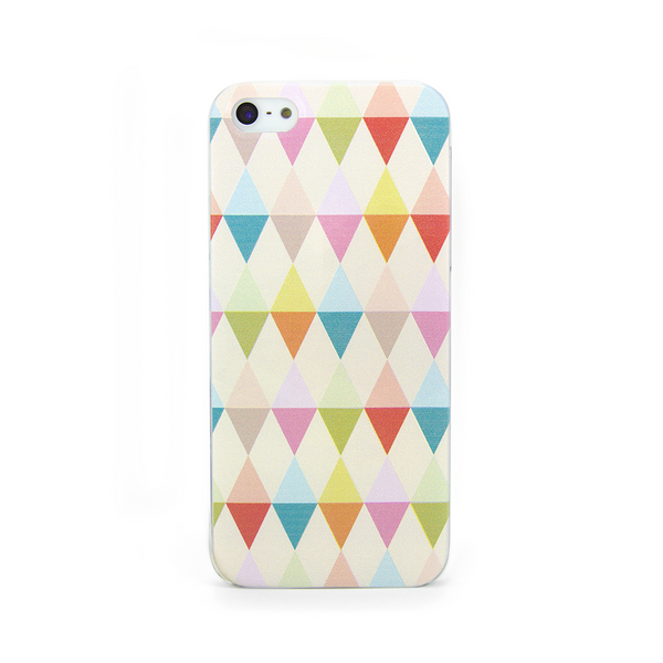 iPhone 5 and iPhone 5s Geometric Flags Print Case - Theory Emblem Case