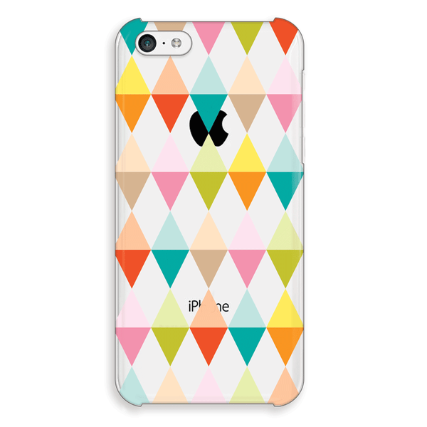 iPhone 5c Geometric Flags Print Case - Theory Emblem Case