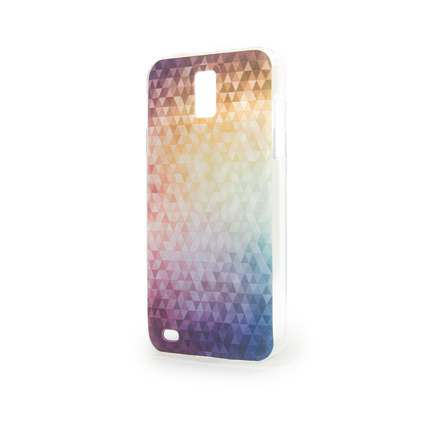 T-Mobile Samsung Galaxy S2 Rainbow Confetti Case - Theory Refract Case