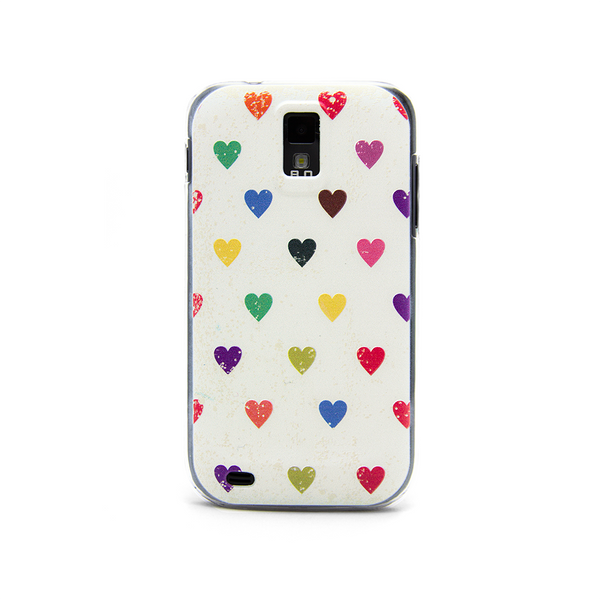 T-Mobile Samsung Galaxy S2 Vintage Hearts Case