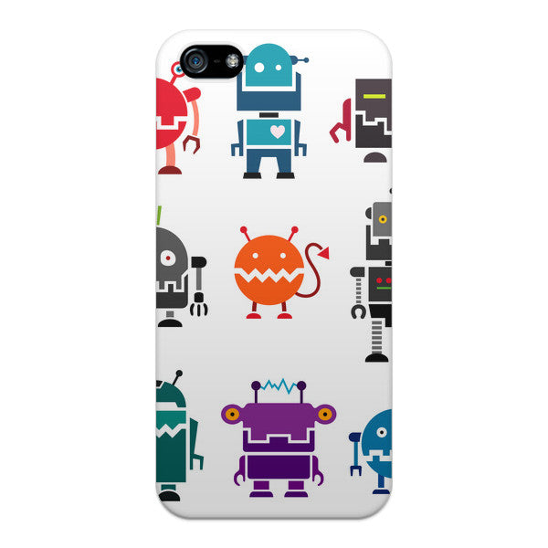 iPhone 5 and iPhone 5s Mini Robots Case by Wittlebee