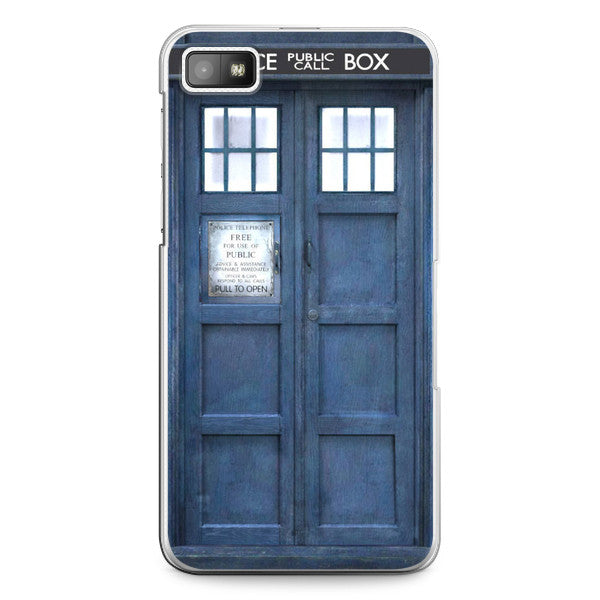 Blackberry Z10 Doctor Who 50th Anniversary Tardis Phone Case