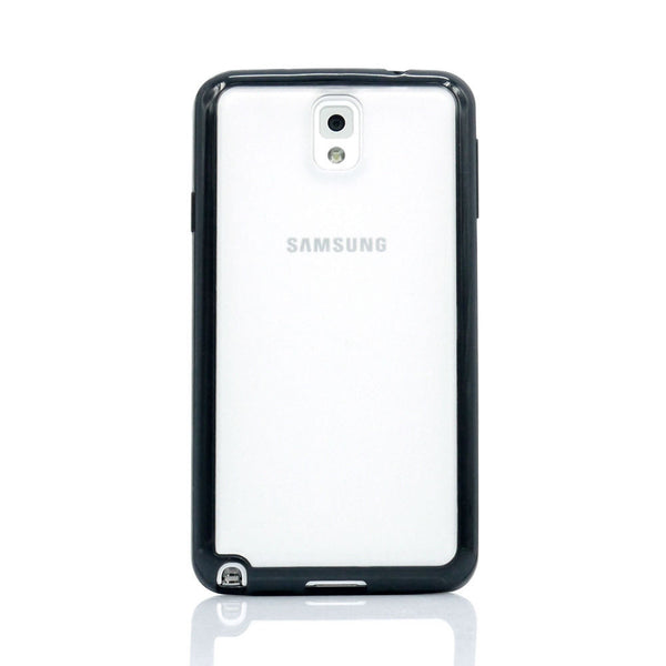 Samsung Galaxy Note 3 Black Bumper Frosted Case