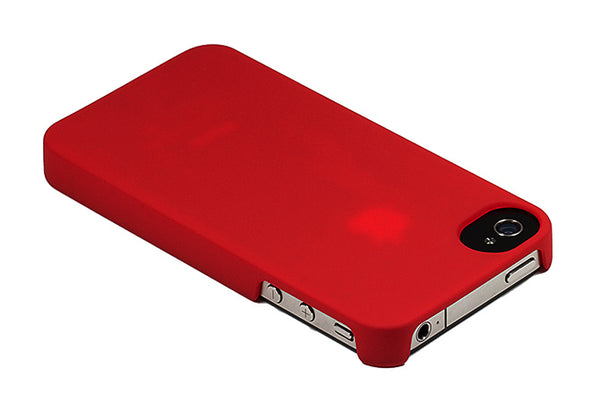iPhone 4 and iPhone 4s Red Buffer Cap Case