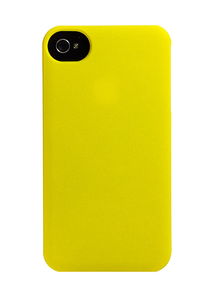 iPhone 4 and iPhone 4s Yellow Buffer Cap Case