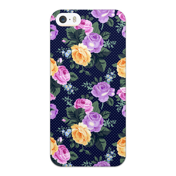 iPhone 5 and iPhone 5s Vintage Autumn Roses Case