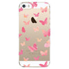 iPhone 5 and iPhone 5s Butterfly Transparent Cap Case