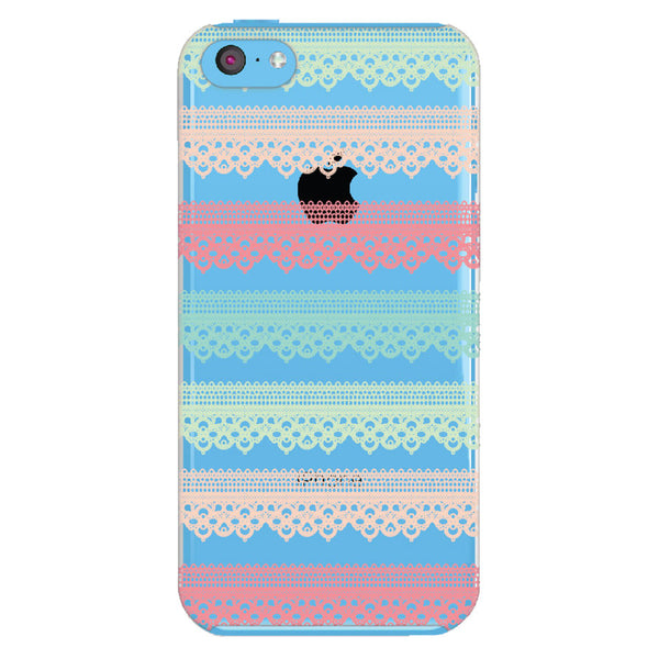 iPhone 5c Lace Transparent Cap Case