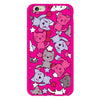 iPhone 6/6s and iPhone 6/6s Plus Pink Cats Bumper Case