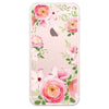 iPhone 6/6s and iPhone 6/6s Plus Pink Roses Bumper Case