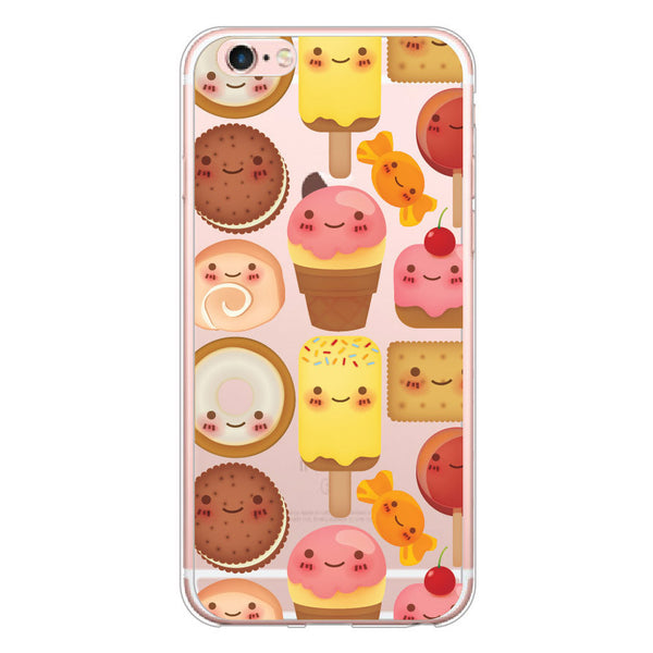iPhone 6/6s and iPhone 6/6s Plus Smiling Desserts Bumper Case