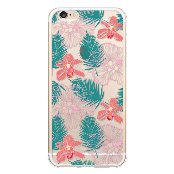 iPhone 6/6s and iPhone 6/6s Plus Hawaiian Florals Bumper Case