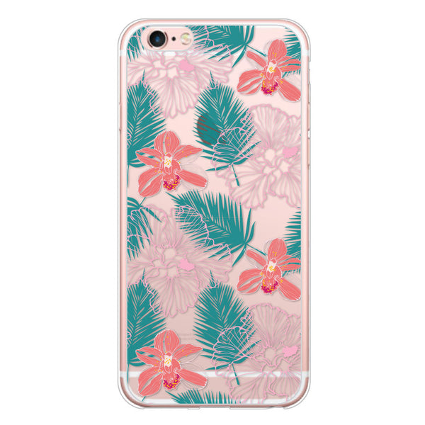 iPhone 7 and iPhone 7 Plus Hawaiian Florals Bumper Case