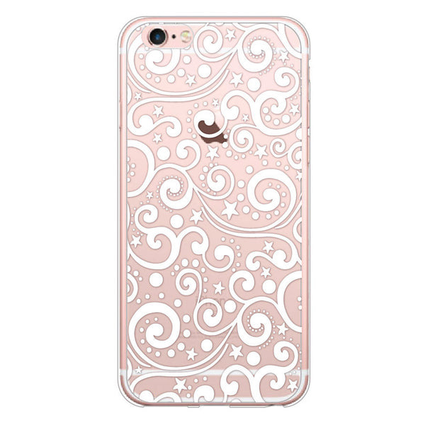 iPhone 7 and iPhone 7 Plus Ocean Waves Clear Bumper Case
