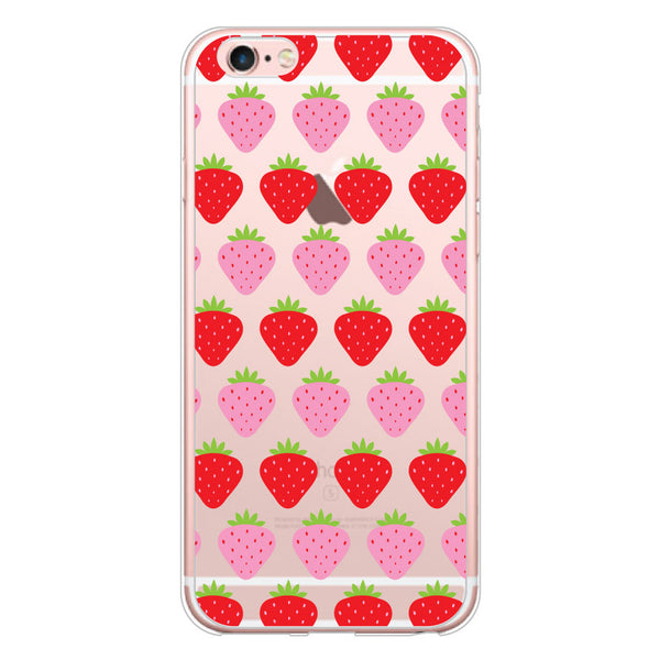 iPhone 6/6s and iPhone 6/6s Plus Strawberries Bumper Case