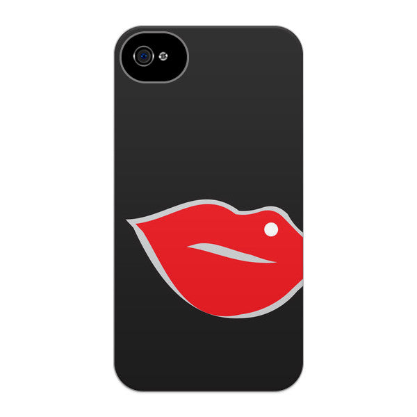 iPhone 4 and iPhone 4S Red Lips Case