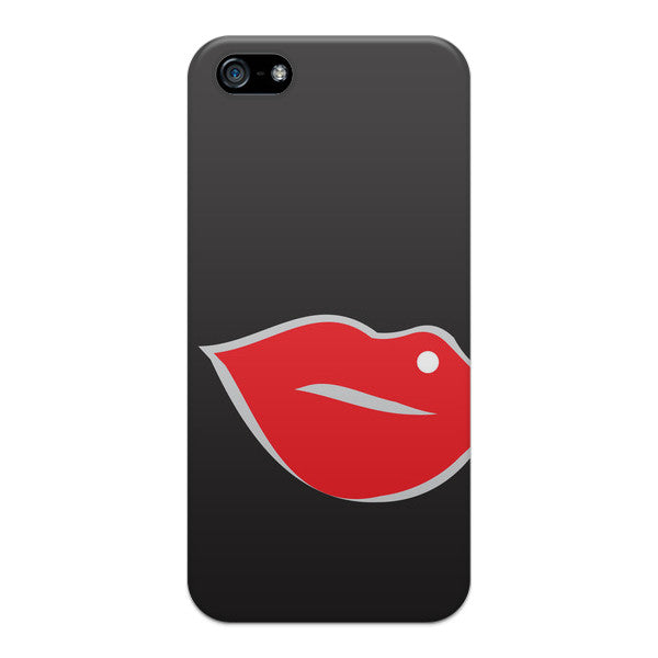 iPhone 5 Red Lips Case