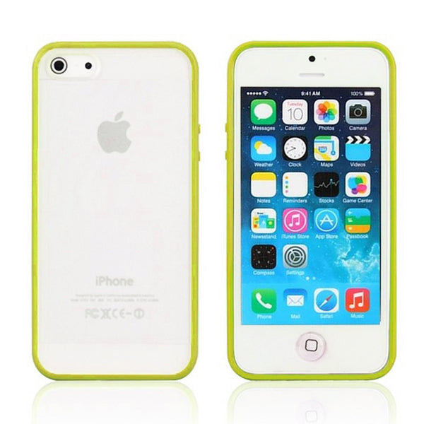 iPhone 5c Lime Green Bumper Frosted Case