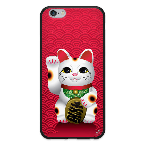 iPhone 6 and iPhone 6 Plus Lucky Cat Maneki Neko Bumper Case