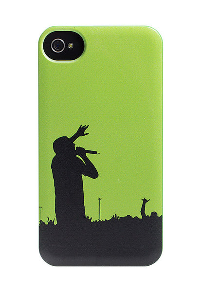 iPhone 4 and iPhone 4s Green Concert Cheering Case - High Tops Jackson Heights Case