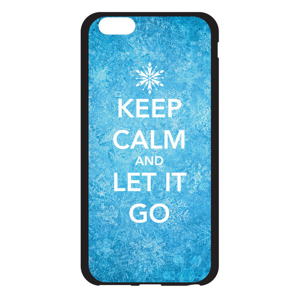iPhone 6 and iPhone 6 Plus Keep Calm and Let it Go Bumper Case
