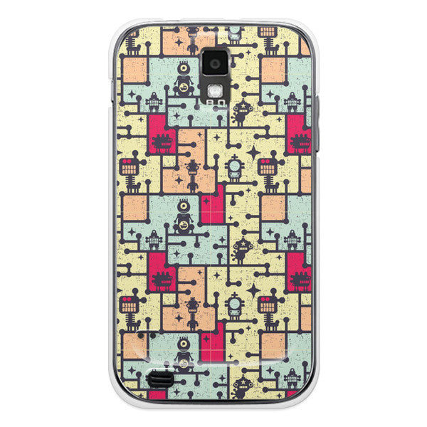 T-Mobile Samsung Galaxy S2 Robot Case - Attack Maze Case
