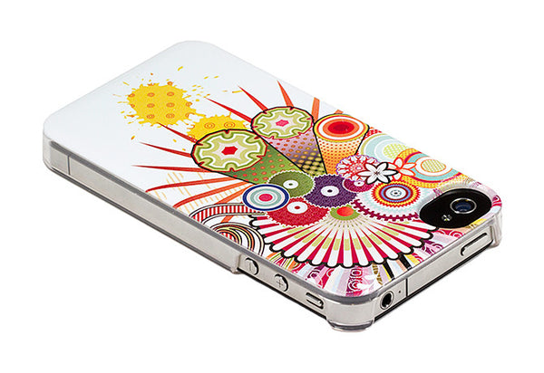 iPhone 4 and iPhone 4s Japanese Fans Blossoms Flowers Case - Radiant Medley Case