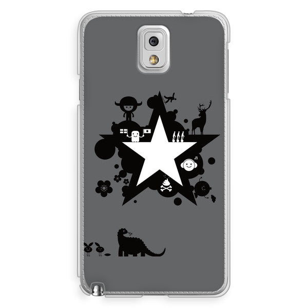 Samsung Galaxy Note 3 Comic Star Anime Case - Attack Galaxacon Case