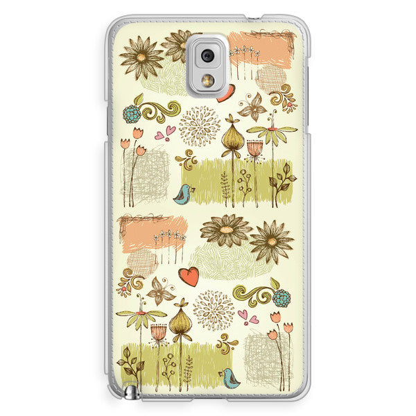 Samsung Galaxy Note 3 French Floral Case
