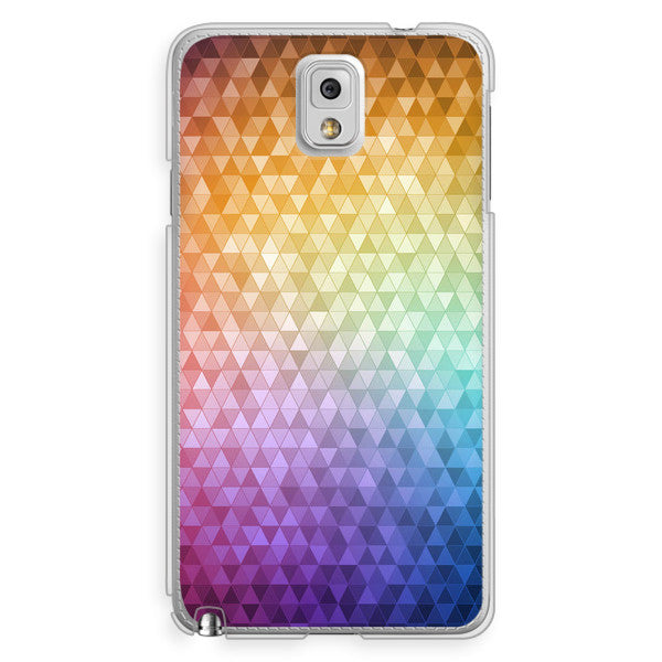 Samsung Galaxy Note 3 Rainbow Confetti Case