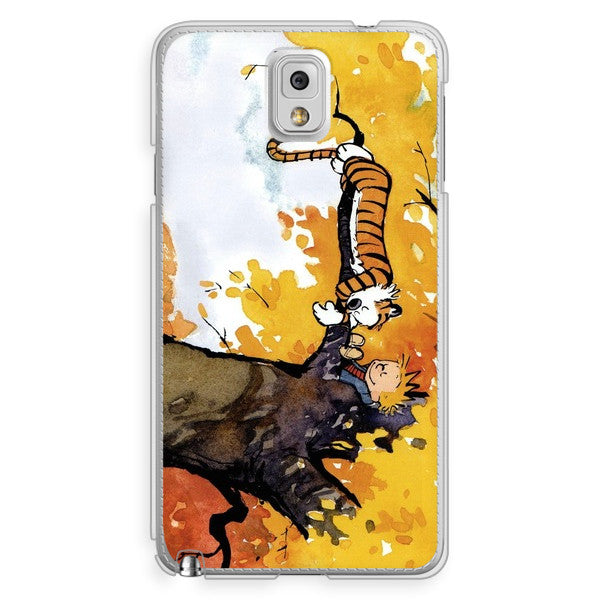 Samsung Galaxy Note 3 Calvin and Hobbes Sleeping in a Tree Phone Case