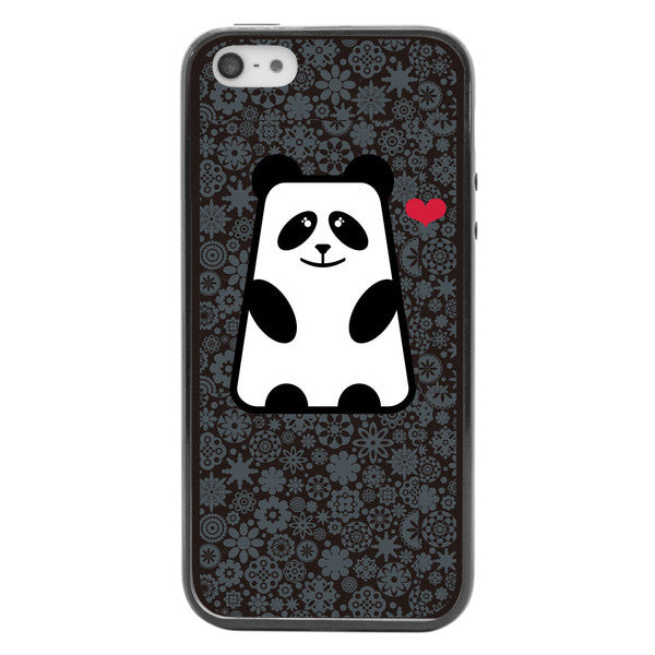 iPhone 5 and iPhone 5s Love Panda Bumper Case