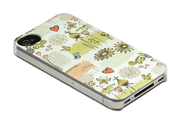 iPhone 4 and iPhone 4s Flower Floral Garden Case - Ashby Petit Jardin Case