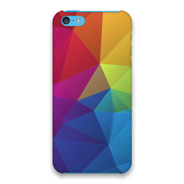 iPhone 5c Geometric Rainbow Print Case - Theory Divide Case