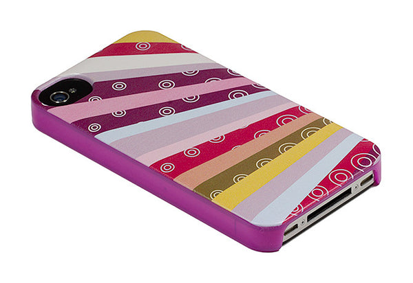 iPhone 4 and iPhone 4s Rainbow Purple Case - Radiant Raybows Case