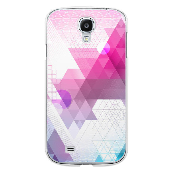 Samsung Galaxy S4 Transparent Geometric Case - Theory Abstract Case