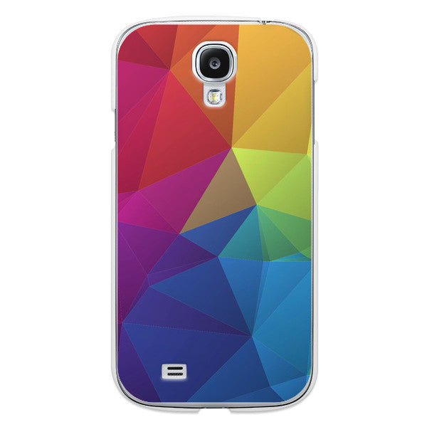 Samsung Galaxy S4 Rainbow Geometric Case - Theory Divide Case