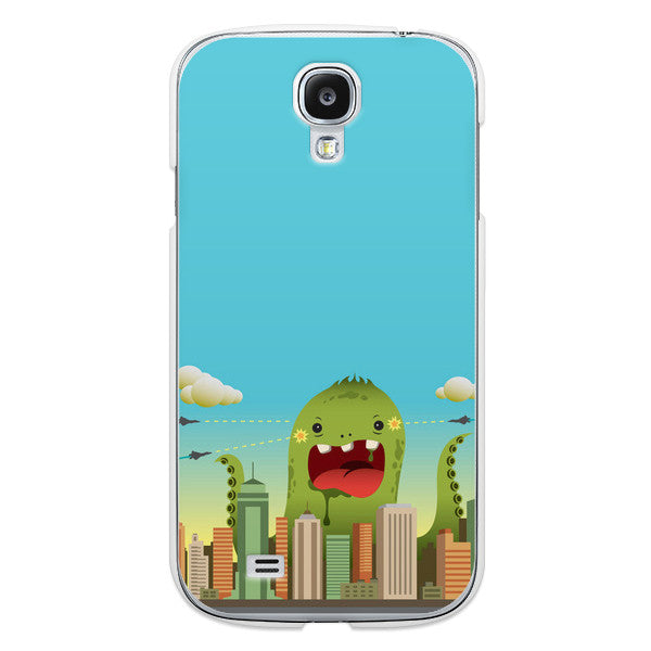 Samsung Galaxy S4 Comic Monster Case - Attack Invasion Case