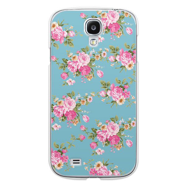 Samsung Galaxy S4 Blue Floral - Duchess Newbury Case